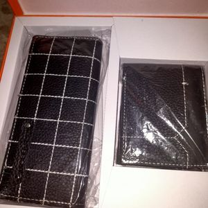 Arrow wallets for her and him